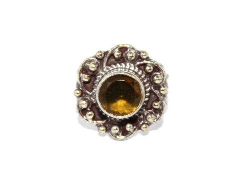 Citrine Amber ring - Yaslai - 1