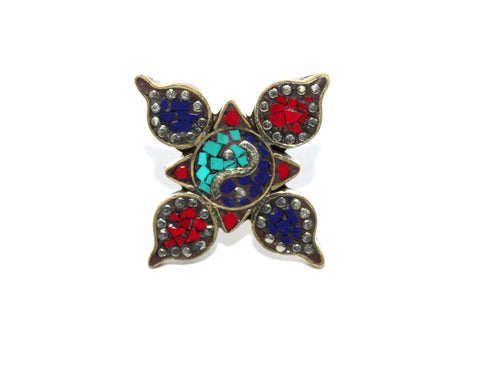 Star bohemian ring - Yaslai - 1