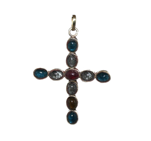 quartz Cross pendant - Yaslai - 1