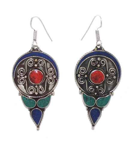 Lapis drop earrings - Yaslai - 1