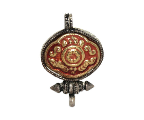 Gau prayer box pendant - Yaslai - 1