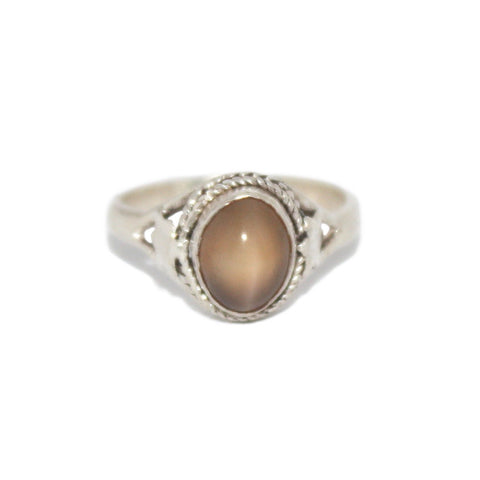 Quartz Sterling Silver Ring - Yaslai - 1