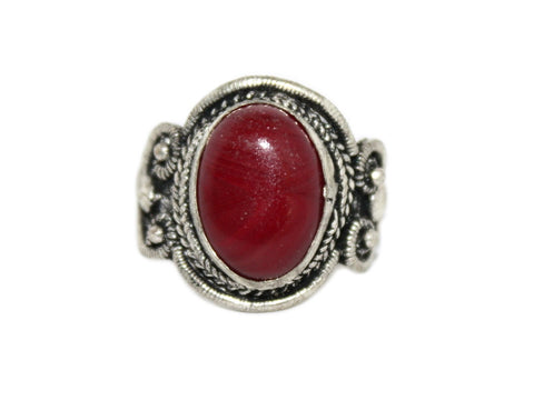 Red Quartz ring - Yaslai - 1