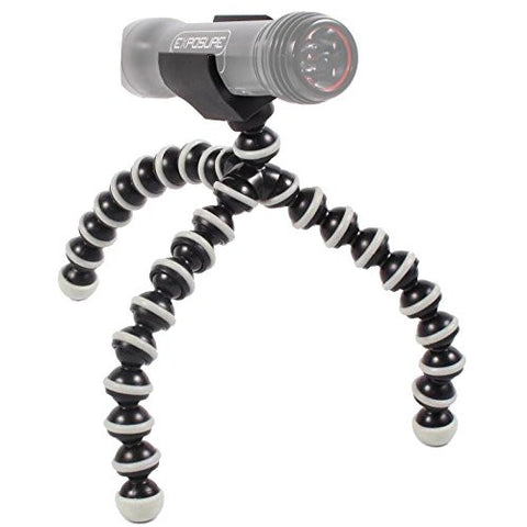 Exposure Lights Magni Grip Tripod Mount for Diablo, Equinox, Axis, Joystick, Sirius and Link Bicycle Lights