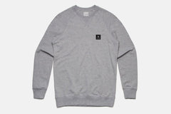 MT Crew Fleece - Heather Grey