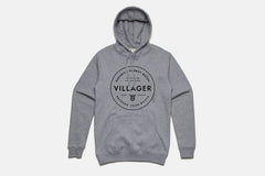 Classic Hooded Sweatshirt - Heather Grey