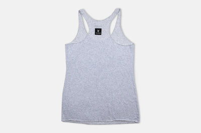 Women's Classic Razor Back Tank - Heather Grey