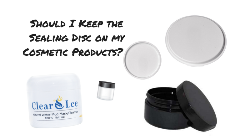 Should I Keep the Sealing Disc on my Cosmetic Products? -2 min read-