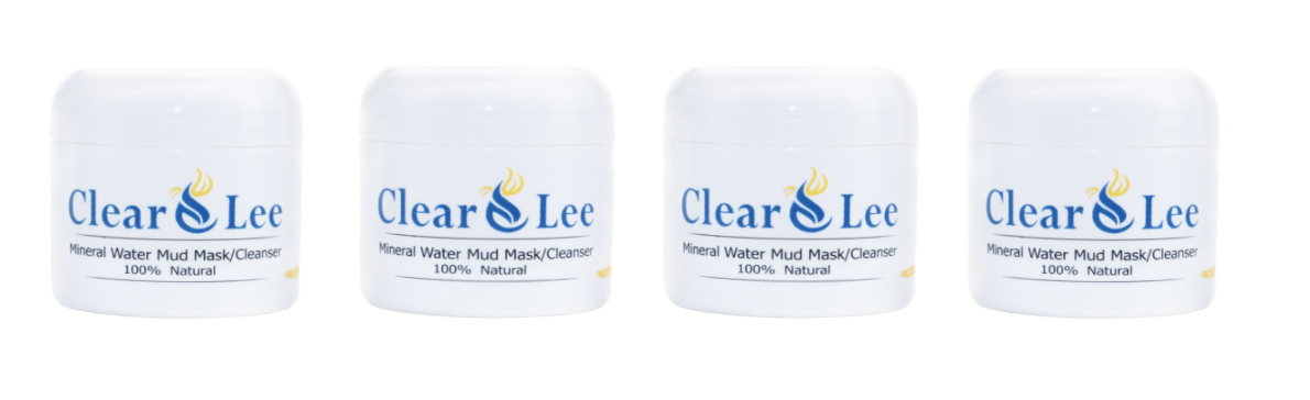 ClearLee four mud mask/cleanser all natural mineral water