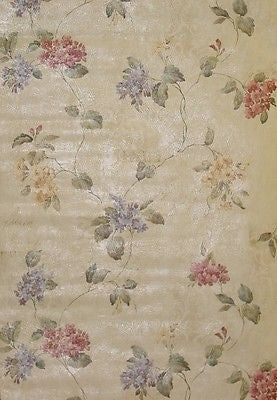 Parkview Designs Hydrangea Trail  Wallpaper - 43202