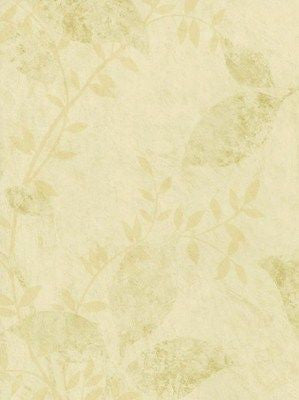 Studio Vue Cream Silhouette Leaf Wallpaper - AFF10292