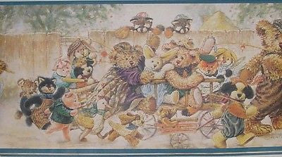 Encore Teddy Bears Wallpaper Border - B47471