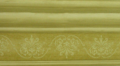 Fine Decor Two Tone BrownTrim Wallpaper Border - B. 4172
