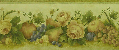 Beacon House Fruit Wallpaper Border - FDB08567