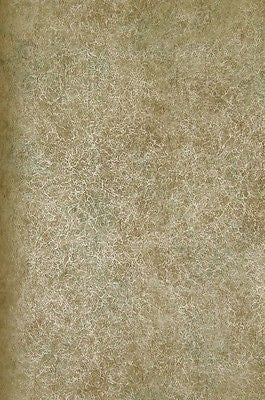 Fine Decor Olive Green, Gold Faux w/Crackle Wallpaper - 32028M