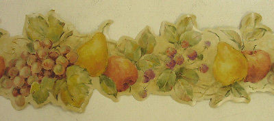 Villa Tuscana Fruit  Wallpaper Border - 57605B