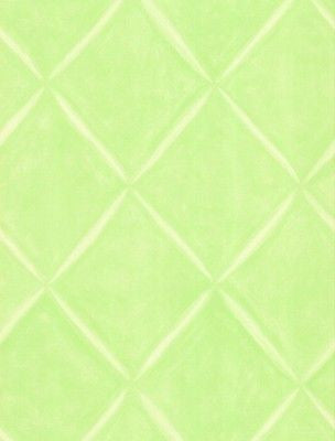 York Lime Green, White Lattice Look Wallpaper - LK1465