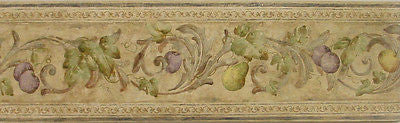 Parkview Fruit Scroll Wallpaper Border - 249B77596