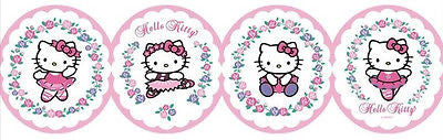 York Hello Kitty Ballet Wallpaper Border - BT2786BD