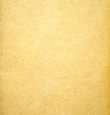 Brewster Gold Scroll w/ Burgundy highlights Wallpaper - FD58801