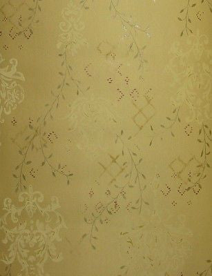York Sage Damask Leaf Trail  Wallpaper - OT4026