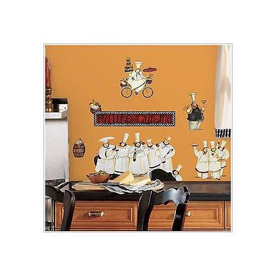 York Chefs Peel & Stick Room Mates Wall Decals - RMK1255SCS