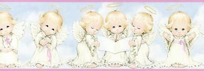 Chesapeake Baby Angels (pink) Wallpaper Border - FF03262B