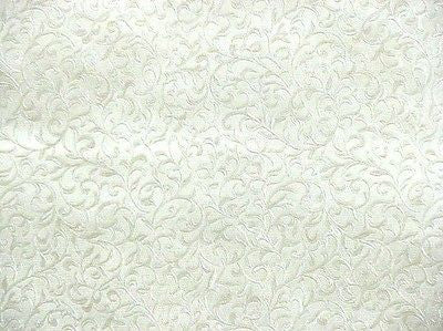 A.S. Creation White Small Scroll Satin Wallpaper - 957-59183