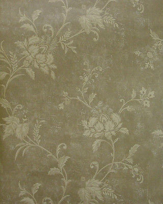 Beacon House Jacobean Floral (mocha/tan) Wallpaper - 85-64358