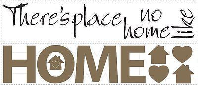 York No Place Like Home Peel & Stick Room Mates Wall Decals - RMK13973SCS