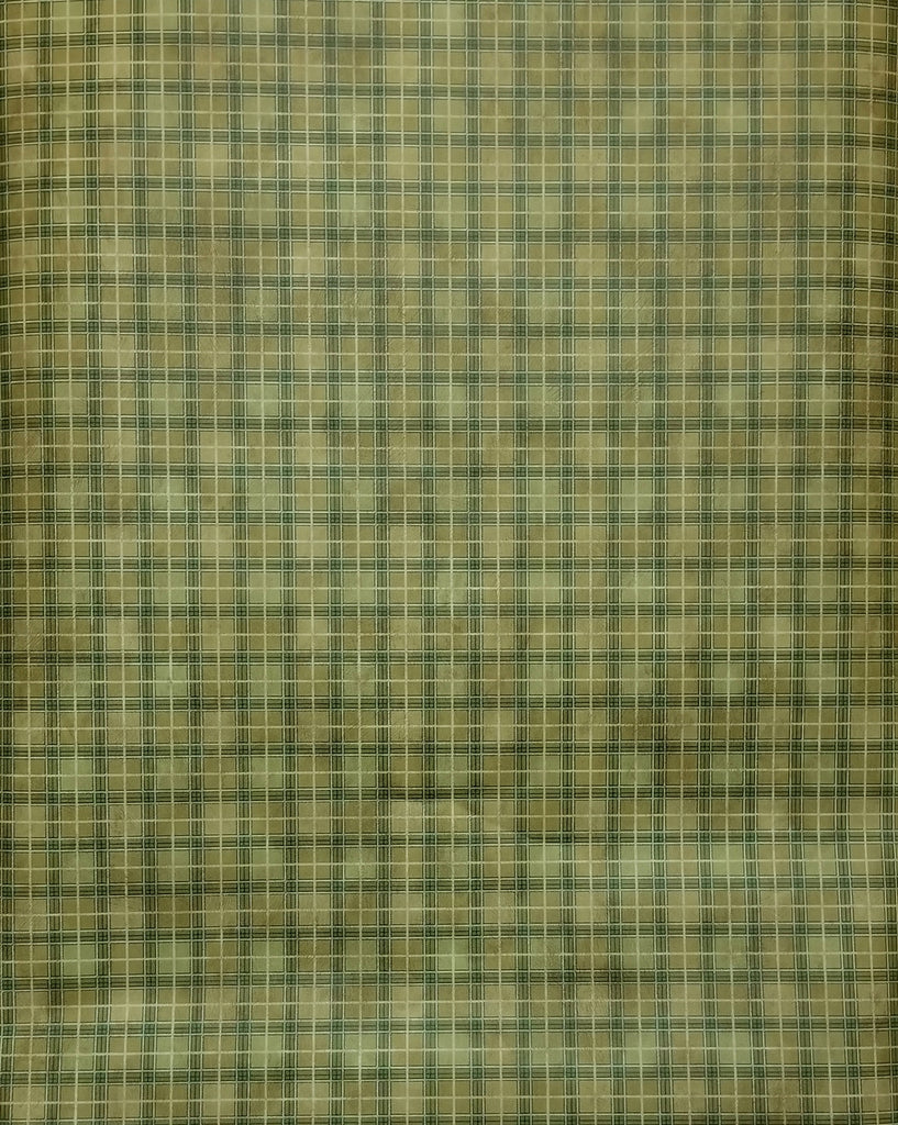 Parkview brown, green & white small plaid wallpaper - 230-33872