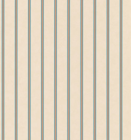 Parkview Multi Color Stripe Wallpaper - 242-58329