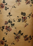 Fine Decore God Damask with Floral overlay wallpaper - 42842