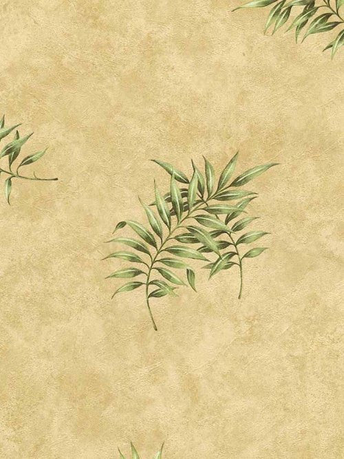 Village Fern Leaf Wallpaper - 5811972