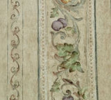 Parkview Fruit Scroll Wallpaper - BR 77556