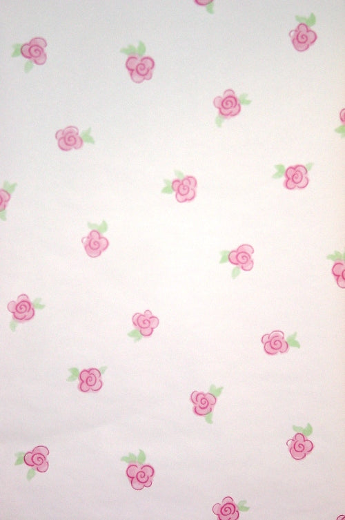York Scattered Pink Painted Flower - BS7778