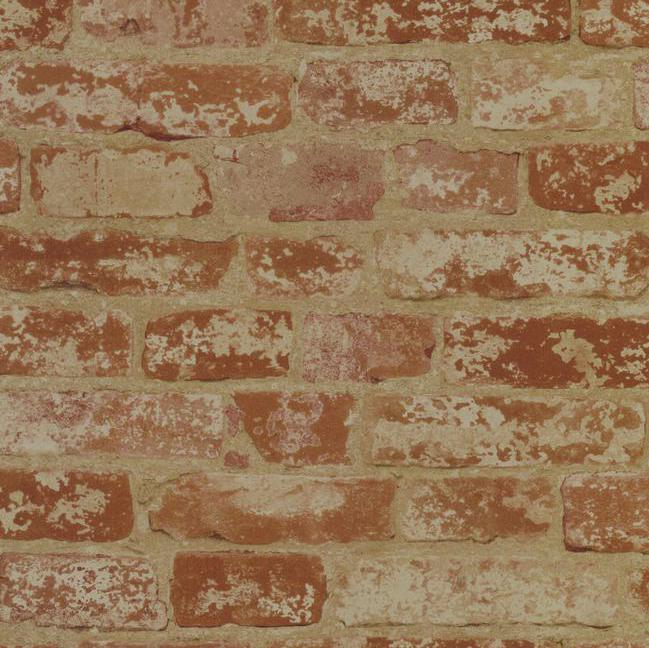 York Faux Brick Country Keepsakes Up The Wall Wallpaper - BZ9206