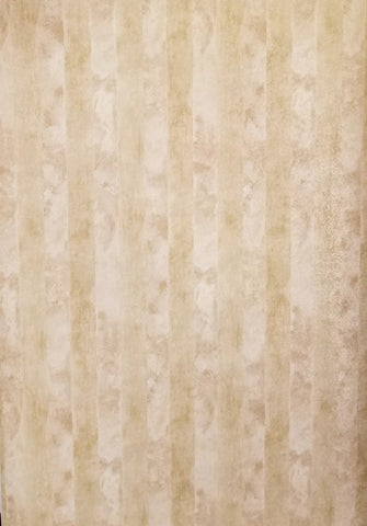 Warner two tone cream/tan stripe wallpaper - COV3682
