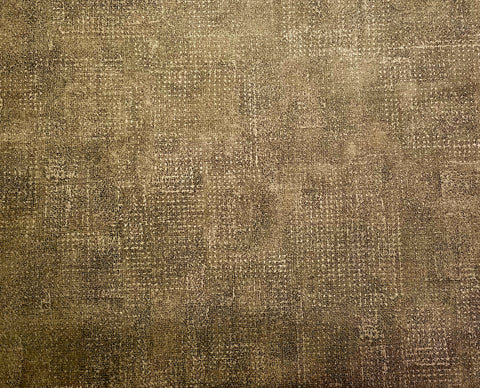 Parkview Green and Tan textured wallpaper - FD44115