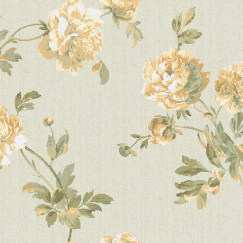 York Graystone Estate Whitworth Peony Wallpaper - HD6916