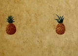 York Pineapple Welcome wallpaper - HF8651