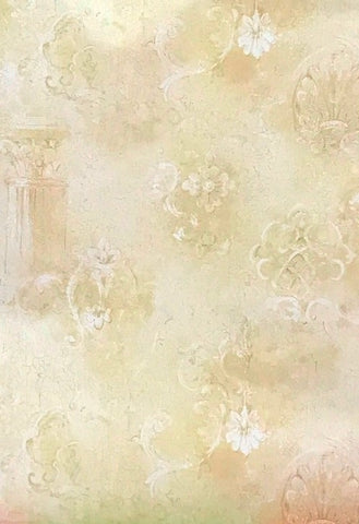 Blonder Crackled Architectural Look Wallpaper - IL42067