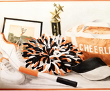 York Black & Orange Cheerleading Wallpaper Border - IN2692B