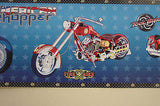 York, American Chopper The Series (Blue) Wallpaper Border - BZ9189BD