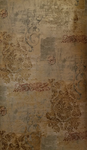 Chesapeake Antique Scrool Faux wallpaper - OS25633