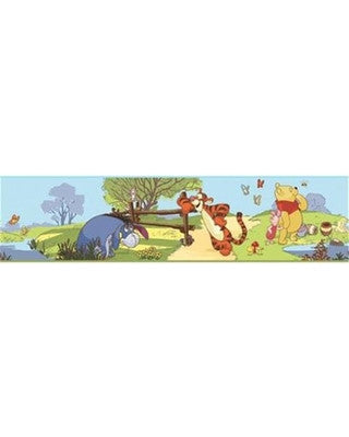 Pooh & Friends Peel & Stick Border - RMK1497BCS