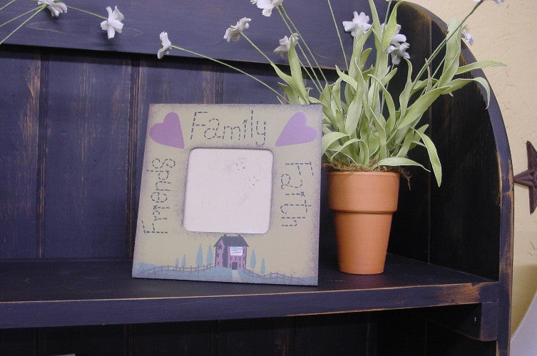 Friends, Family, Faith Small Picture Frame  - SC32