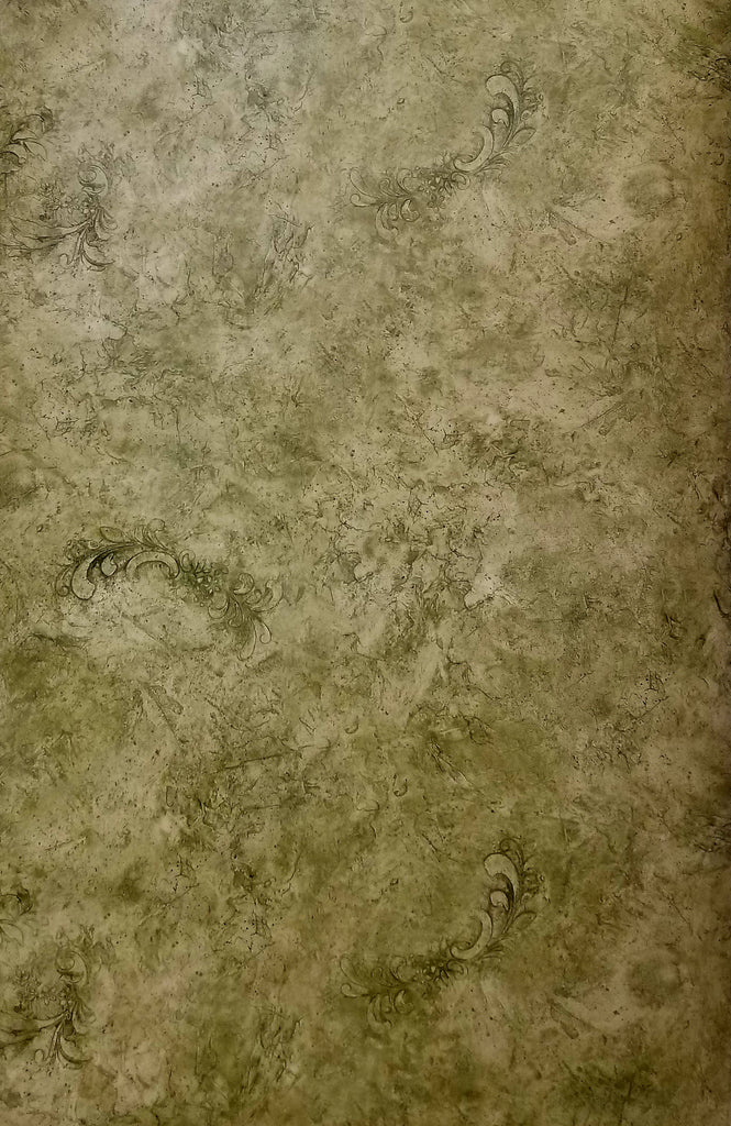 Warner Tone on Tone Green Marble wallpaper - SYL8216