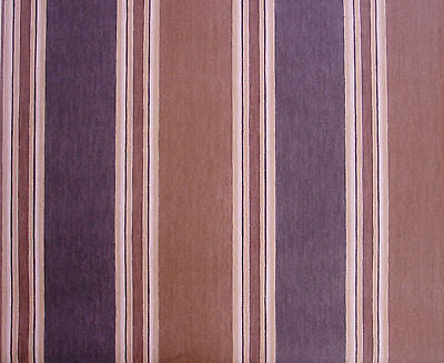 Wallquest Two Tone Brown Stripe Wallpaper - CB70803