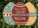 Egg-stra Special Welcome Small Garden Flag - X43788